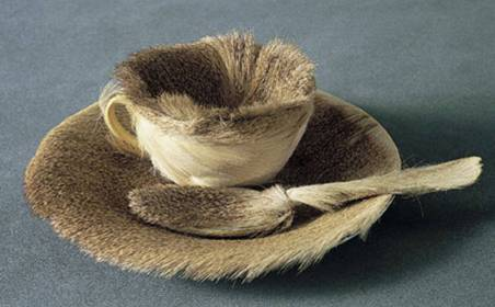 fur cored cup